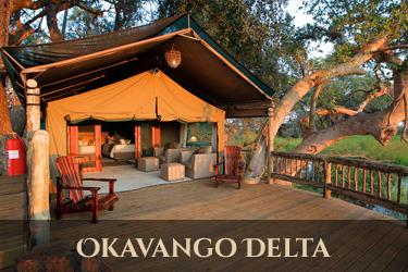 accommodatie Okavango Delta