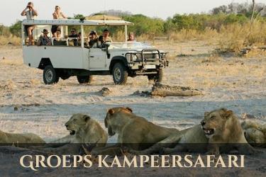 Botswana groepskampeersafari