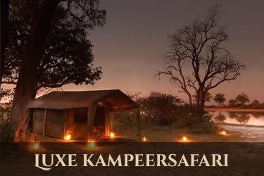 Botswana luxe kampeersafari