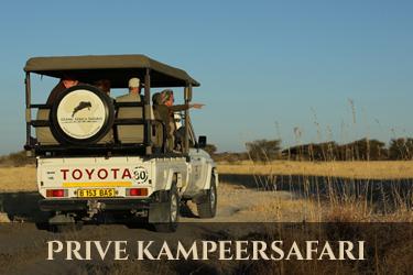 Botswana prive kampeersafari
