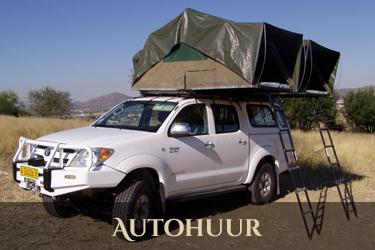 Namibie autohuur