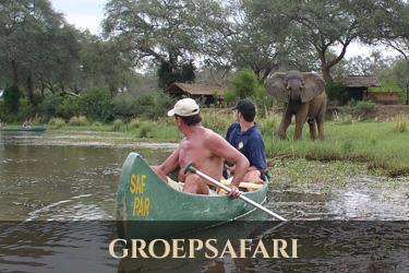 groepssafari Zambia